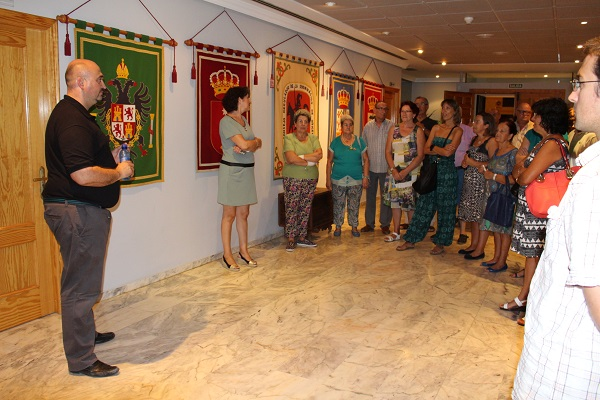 Los visitantes disfrutaron visitando la sede del Consejo el pasado verano