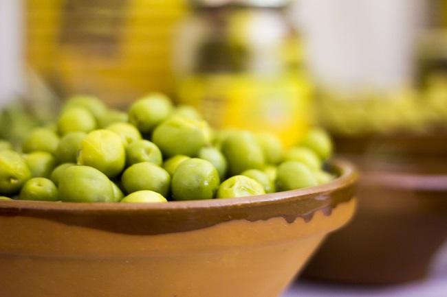 Aceite de oliva es uno de los productos clave en Castilla La Mancha