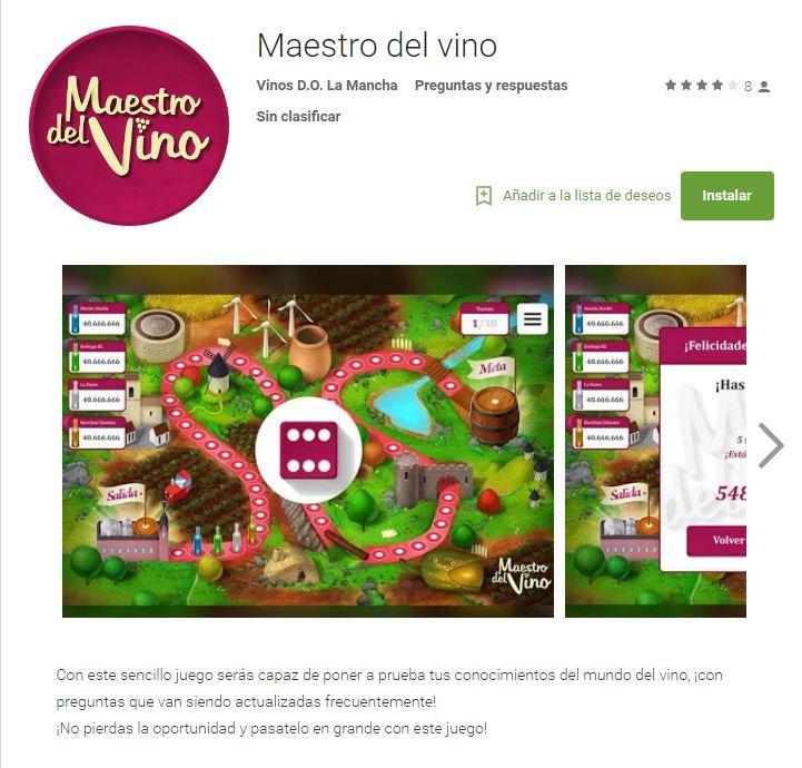 App, Maestro del vino