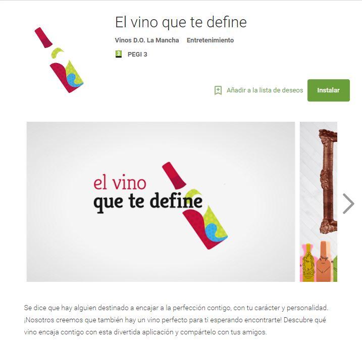 App, el vino que define