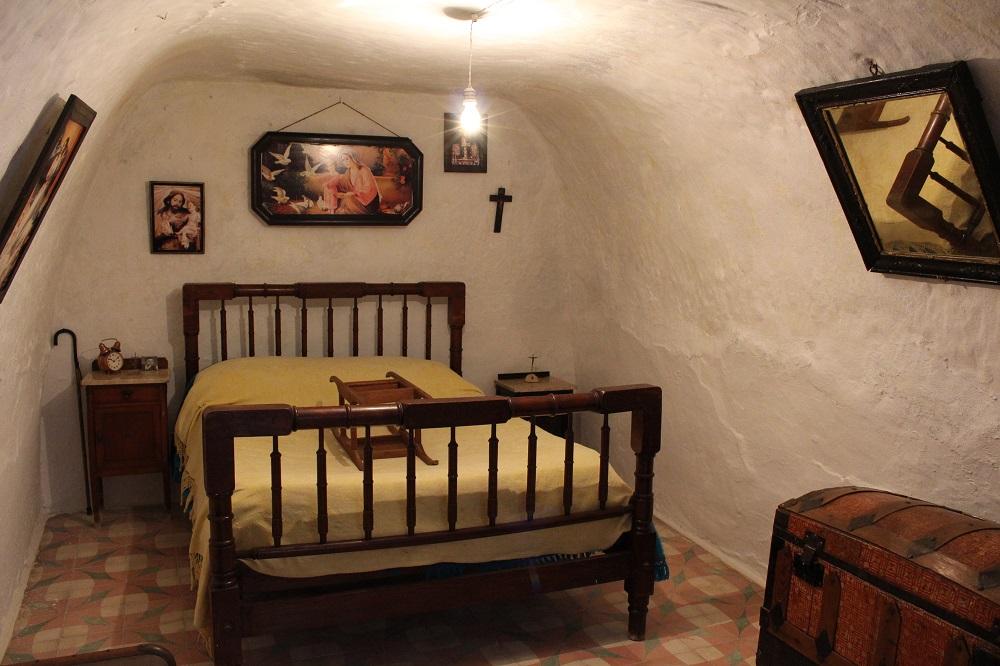 Dormitorio principal de un silo
