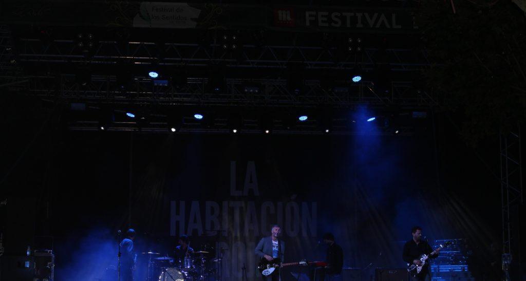 La habitación Roja, cabeza de cartel en la noche del sábado en La Roda
