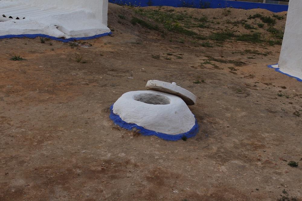 Respiraderos que sirven de ventilación interior para los silos