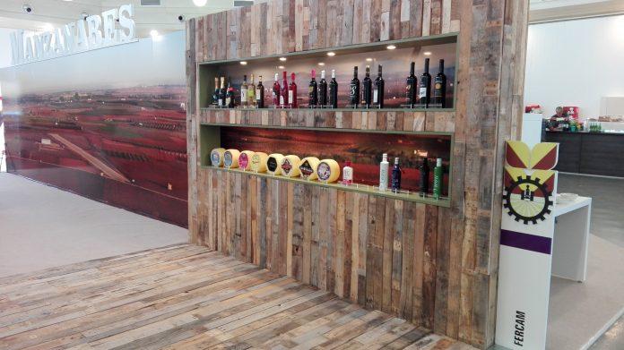 Bodegón de los vinos premiados en Fercam 2016