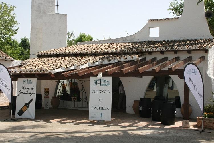 Vinícola de Castilla también posee un stand permanente en Fercam