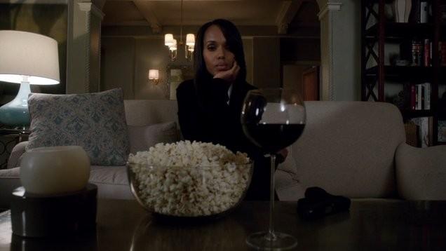 Olivia Pope (Scandal) - wine TV