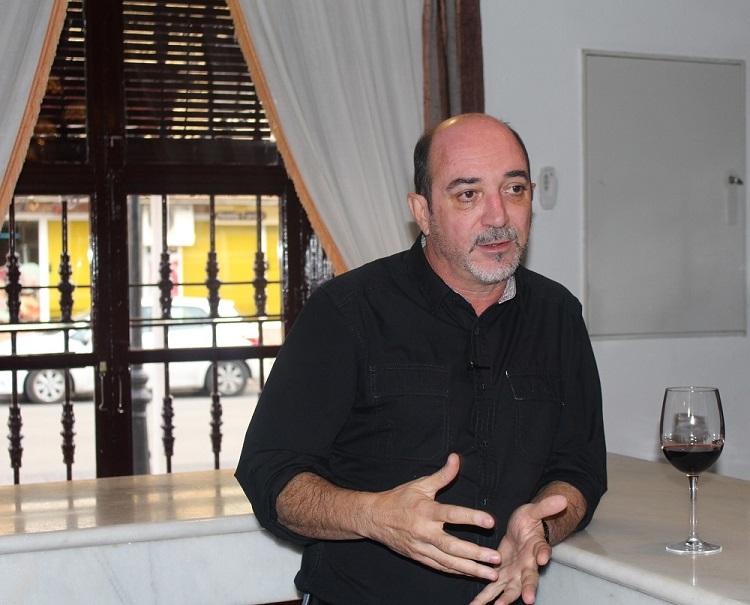 Carlos de La Morena ya es un habitual en las aulas de la Universidad de Castilla La ManchaCarlos de La Morena ya es un habitual en las aulas de la Universidad de Castilla La Mancha