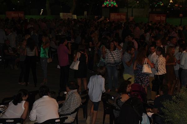 Numeroso público ha respondido en las últimas ediciones de la Fiesta del Vino