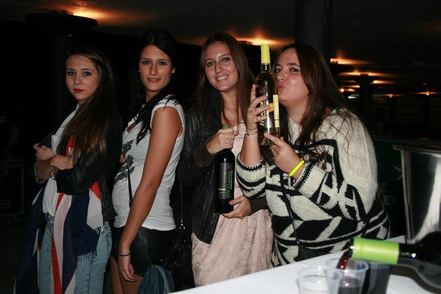 Los vinos DO La Mancha han estado presentes en festivales con presencia de público joven