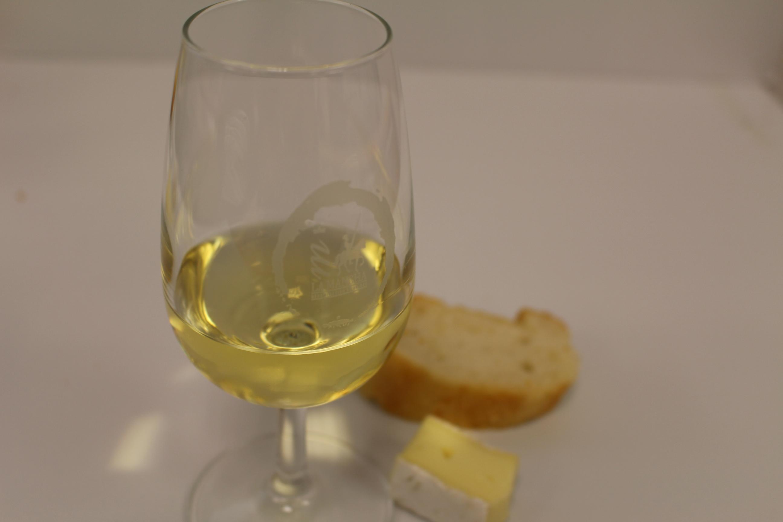 Chardonnay con queso bree