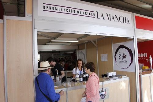 Imagen del stand en la Feria de la tapa de Albacete