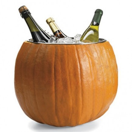 Halloween Pumpkin Ice Bucket