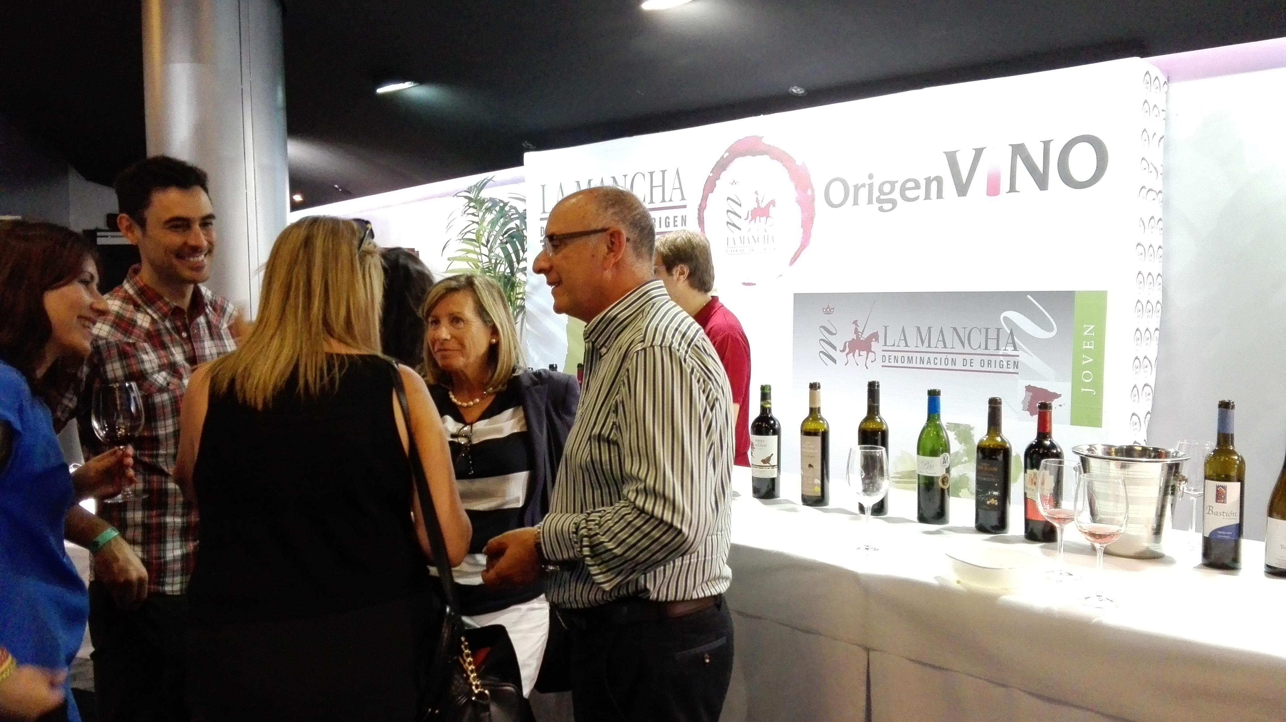 Muestra de vinos DO La Mancha