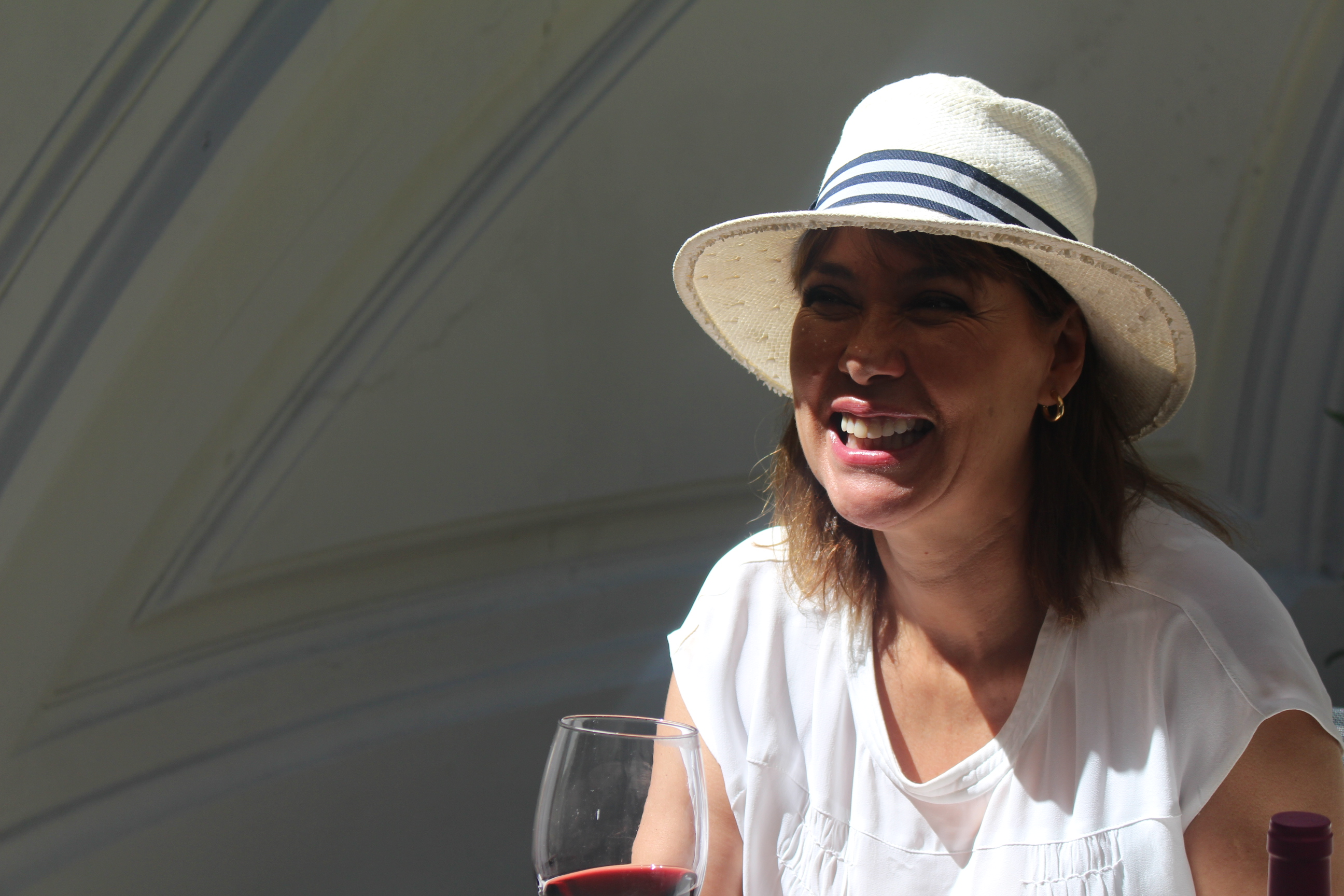 Mabel Lozano, rostro conocido en las pantallas.