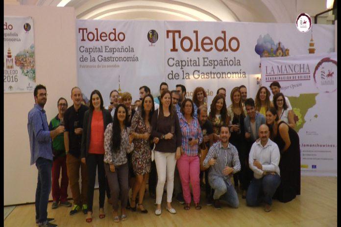 Periodistas de la ciudad de #Toledo conocen los vinos #DOLaMancha_11
