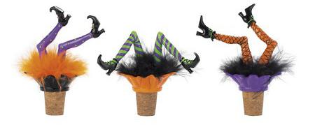 Halloween-themed bottle stoppers