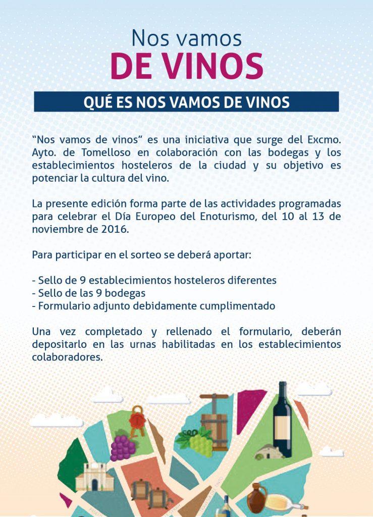 De vinos en tomelloso, enoturismo