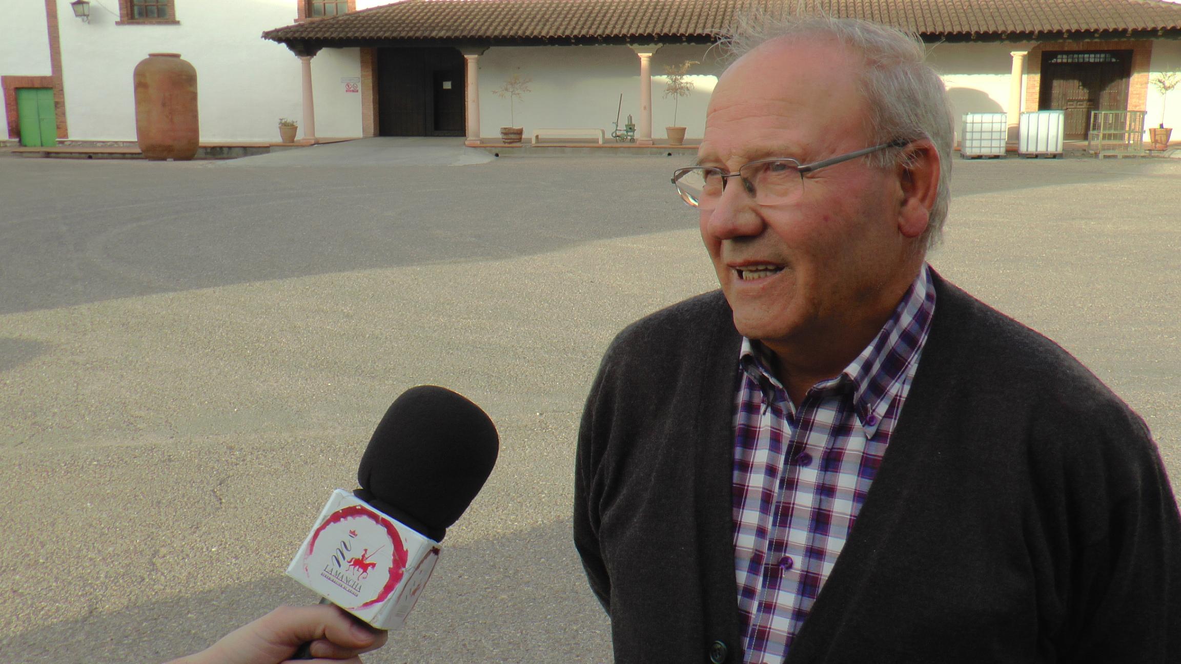 José Toledo, Pte en Bodegas Entremontes