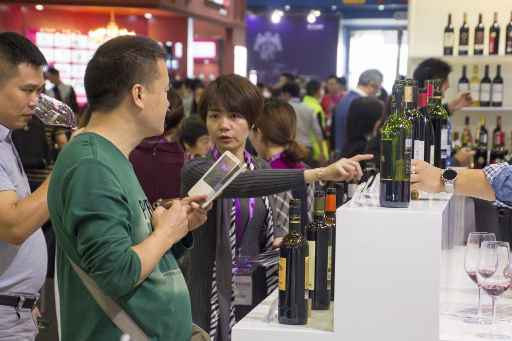 El publico chino en Interwine