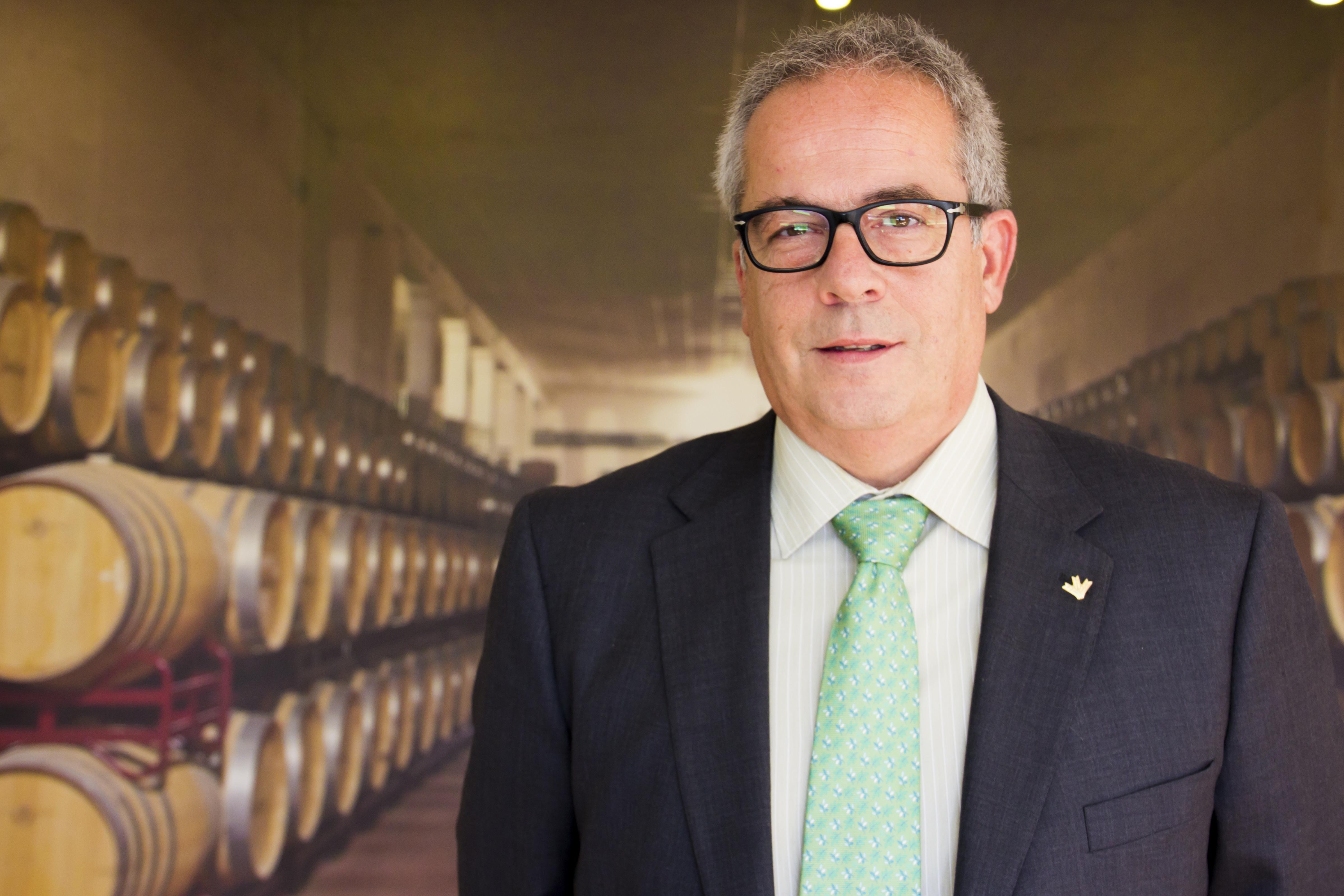 Ramón Alcarazo, gerente en Bodegas Yuntero
