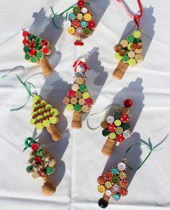 Christmas DIY cork tree