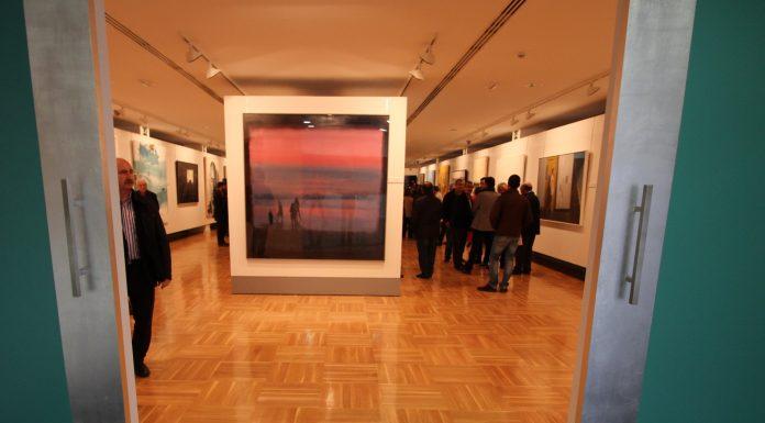 el-cuadro-ganador-abre-la-muestra-en-la-tercera-planta-del-museo-infanta-elena
