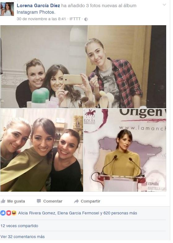 lorena-garcia-posa-con-sus-maquilladoras