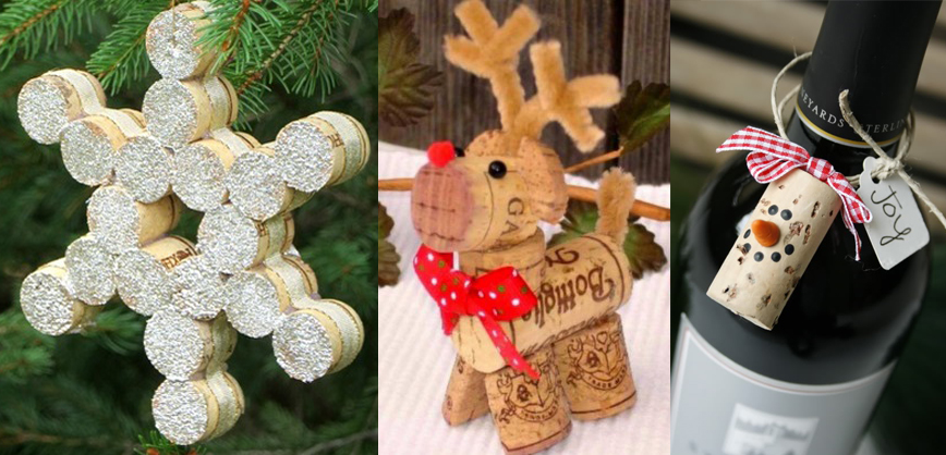 Do you love Christmas? Do you love wine? Do you love recycling? Do you love DIY? Here you have some wine cork Christmas decoration ideas to combine all your ...