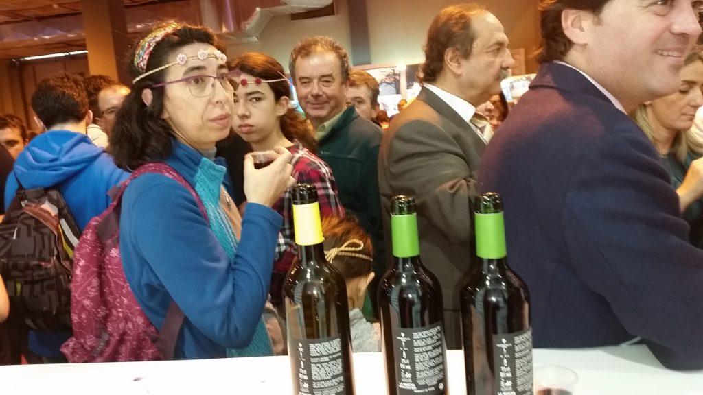Degustacion de vinos en Fitur