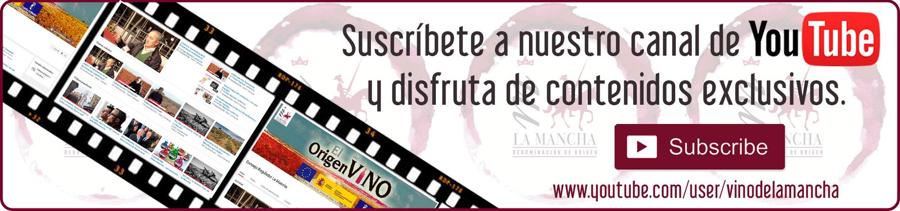 Canal de YouTube Vinos de La Mancha