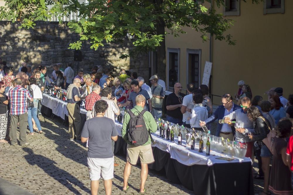 Degustación de vinos DO La Mancha en Gijón, el pasado verano