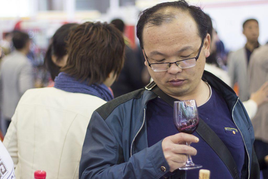 Un visitante en Chengdu