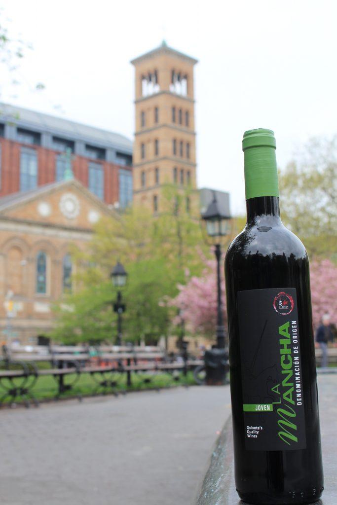Los vinos DO La Mancha junto a la catedral de San Patircio
