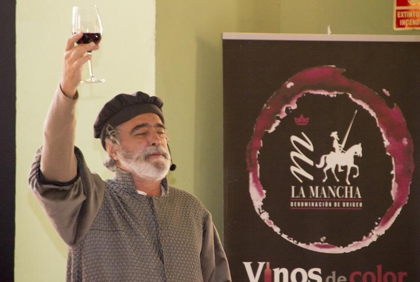 Cervantes por el director de Escarramán Teatro