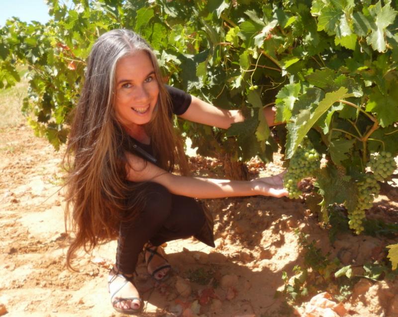 Hosanna Penia de De Arrue con un tempranillo de La Mancha