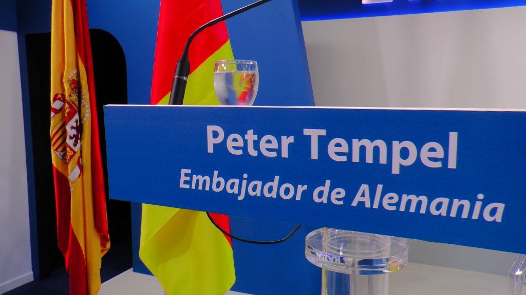 Peter Timbel embajador alemán