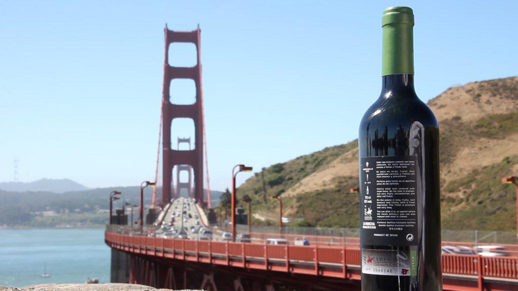 La DO La Mancha en el puente de San Francisco