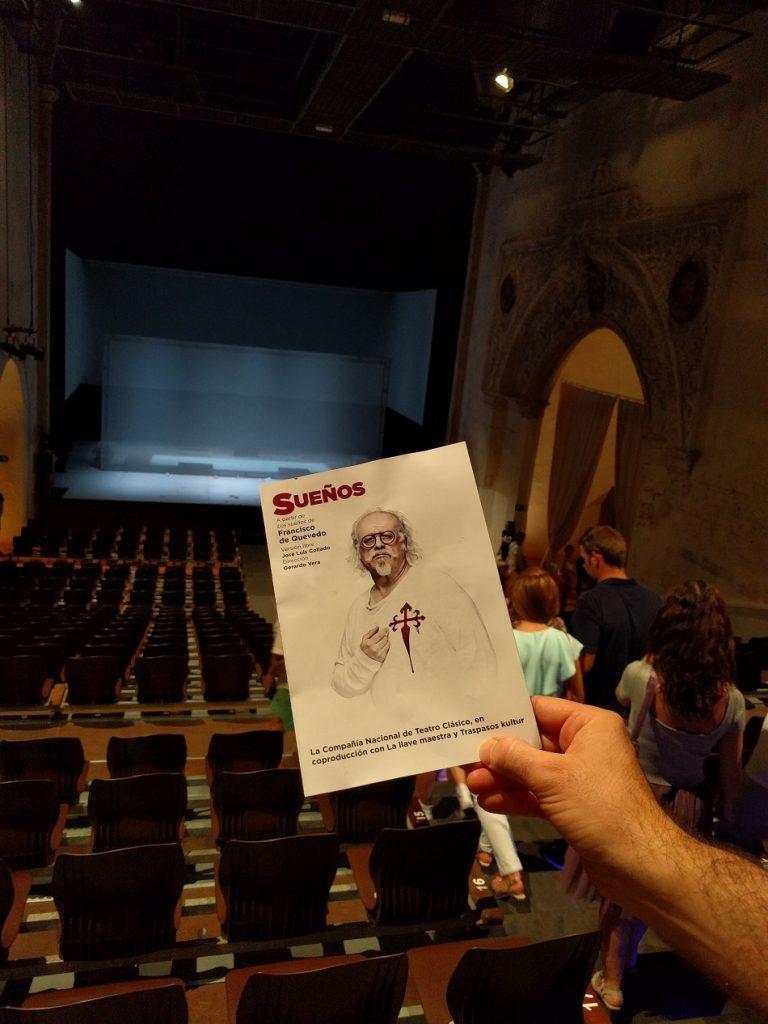 Sueños de Quevedo en el teatro aurea de Almagro