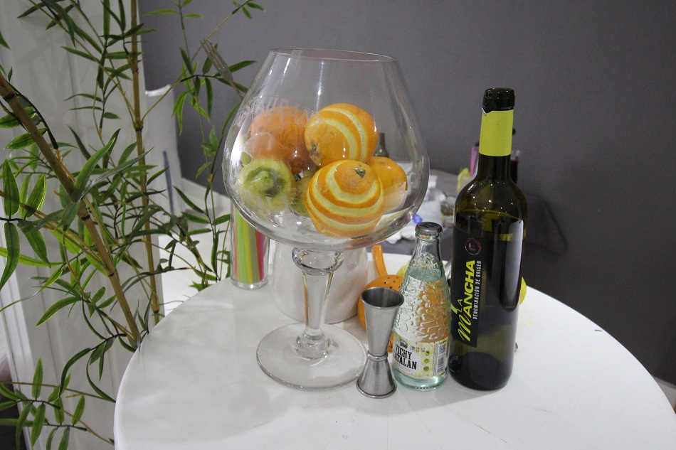 Zurra sour inspirada en toques frutales y vino airén DO La mancha