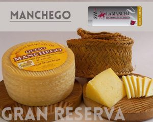 quesos manchego con gran reserva DO La mancha