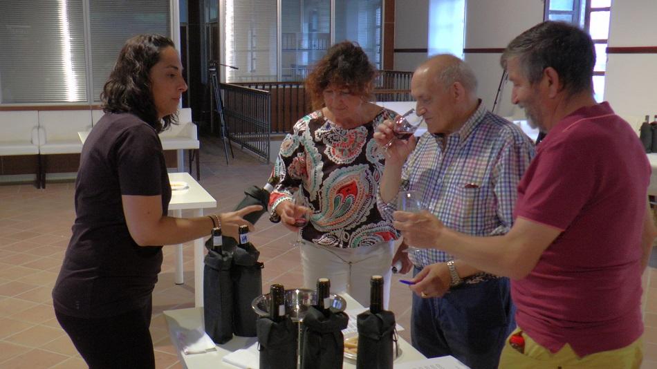 Participantes en el maestro del vino en la edición pasada