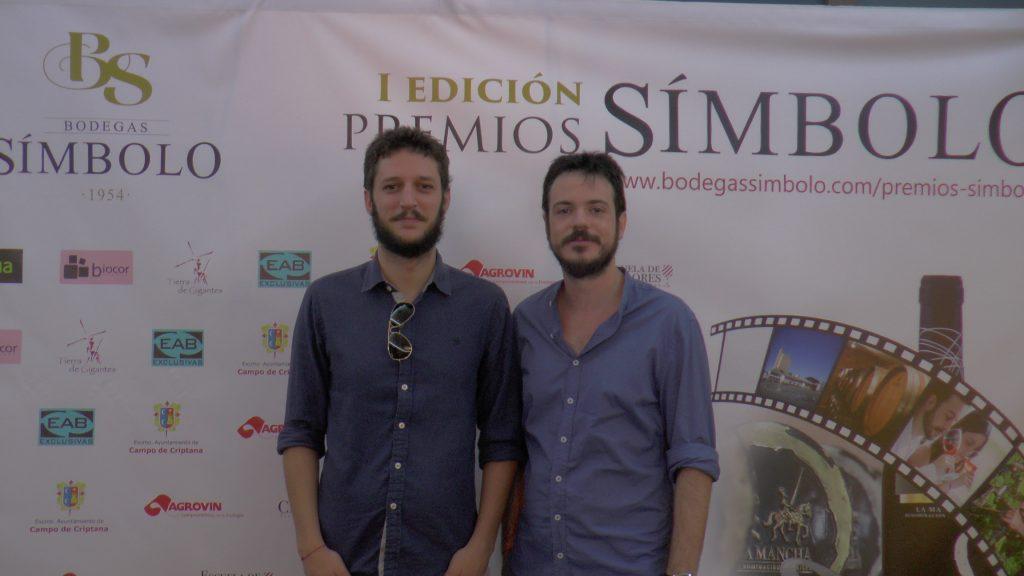 Directores del corto ganador 'Por sifo'