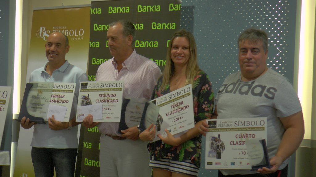 Ganadores del X Concurso de catadores de Bodegas Símbolo