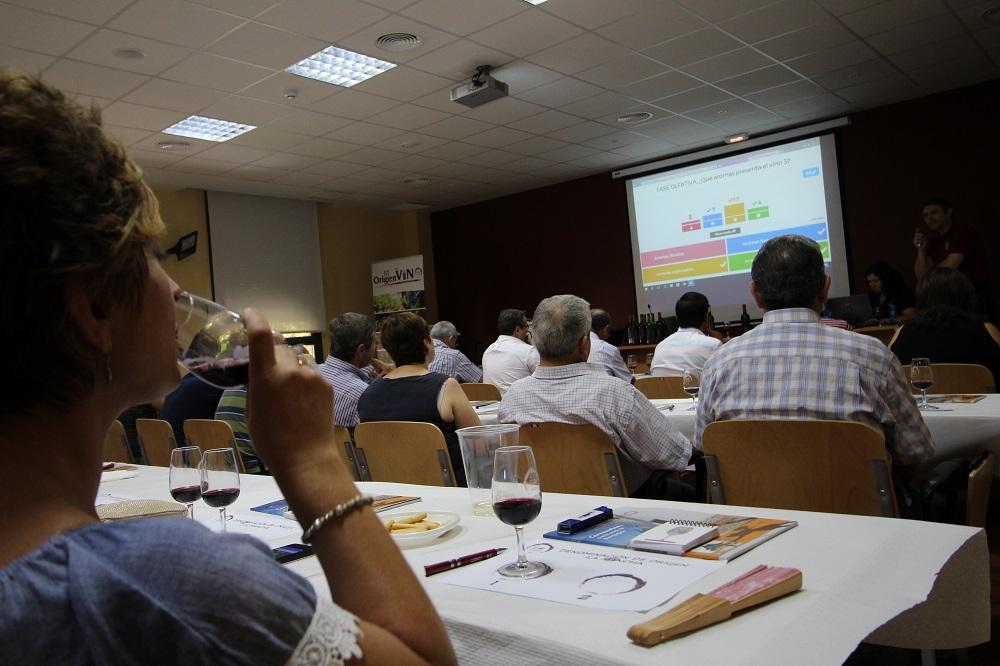 Participantes de maestros del vino