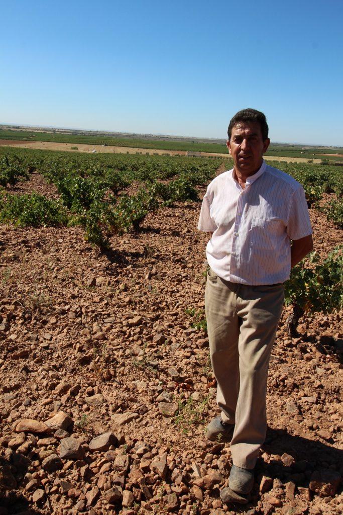 Felipe Cañadilla, viticultor en DO La Mancha