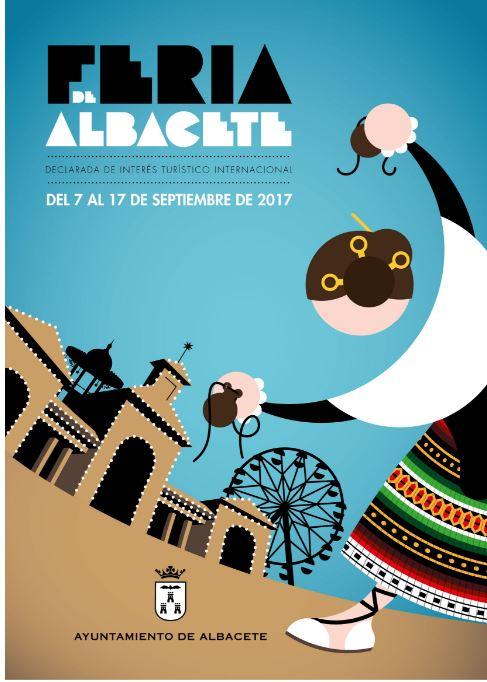 cartel-de-la-feria-de-albacete-en-2017