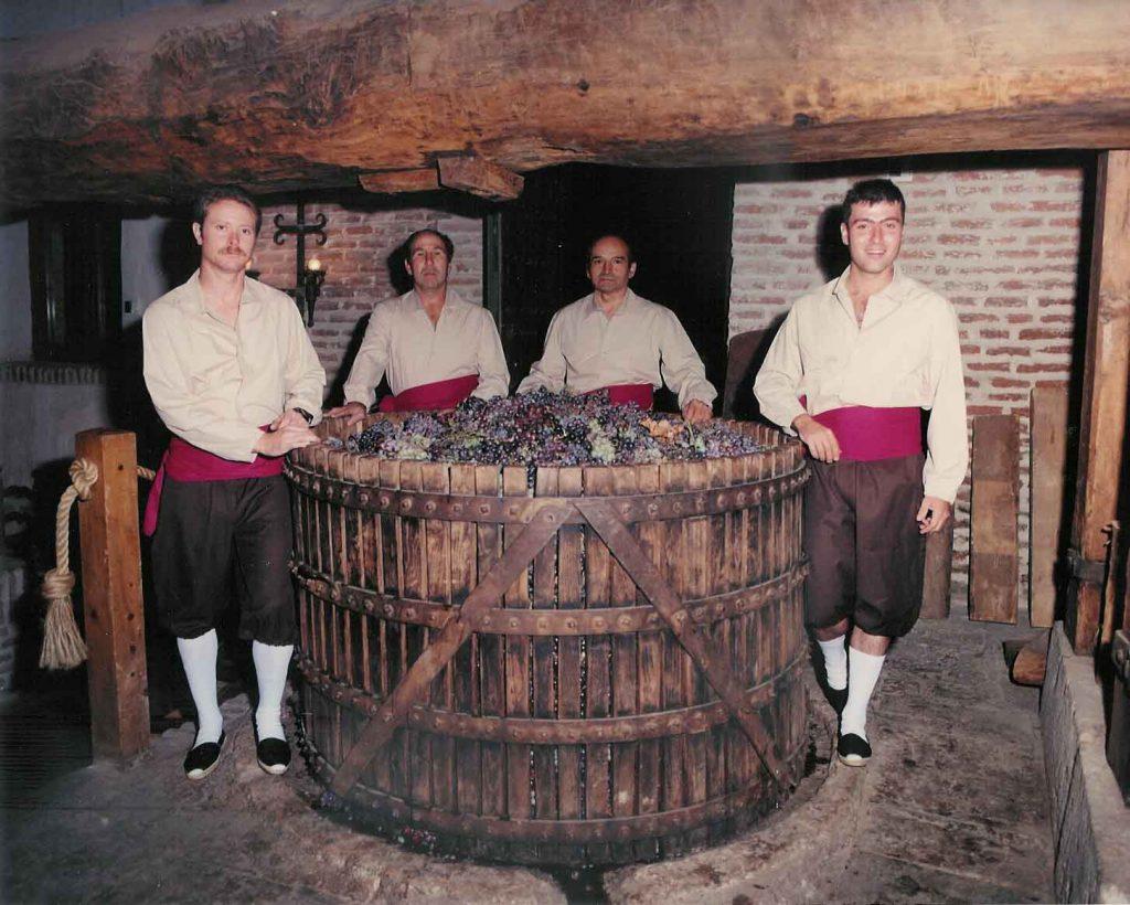Los vinos DO La mancha en la casa grande