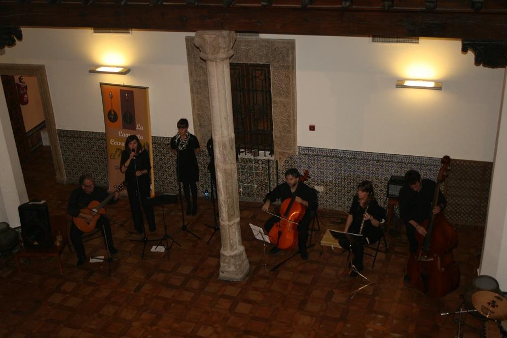 La camerata Cervantina en un actuación con el Consejo Regulador en Toledo