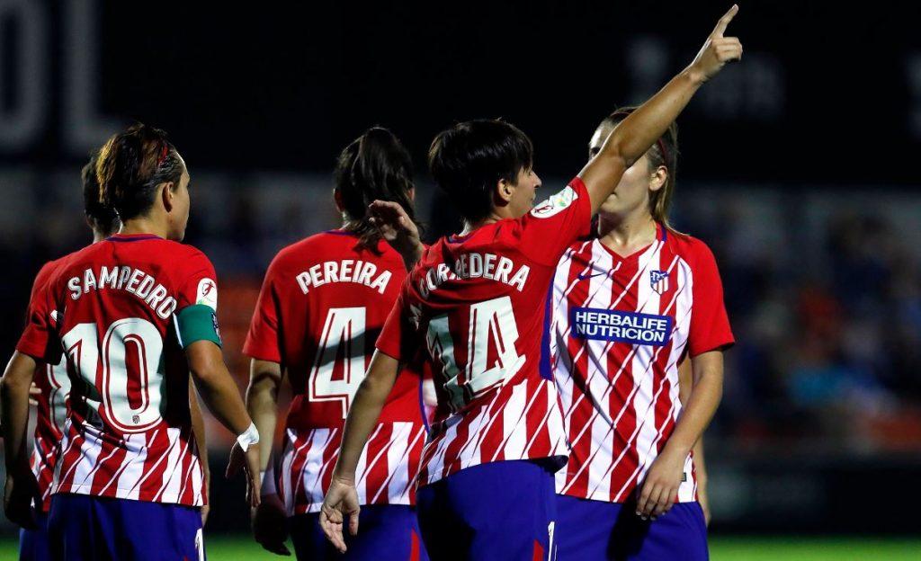 Atlético de Madrid femenino Fuente: @AtletiFemenino