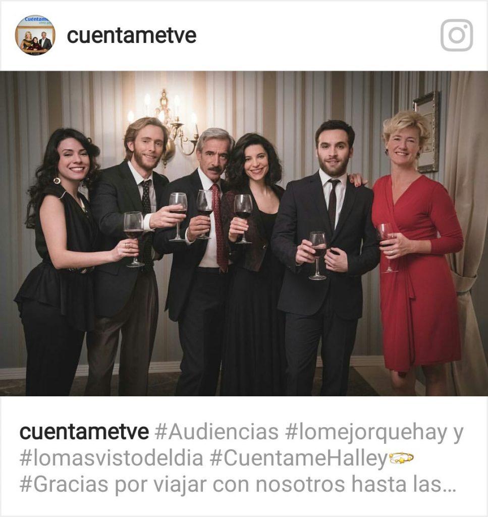 Imanol Arias, pater familia de los Alcántara